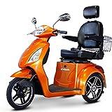 E-Wheels EW-36 3-Wheel Electric Senior Mobility Scooter -...