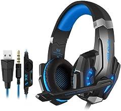 Auriculares con micrófono, Ps4 y Xbox/PC; auriculares USB; 3,5 + USB de un solo agujero para PS4.