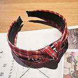 Female Headband Headband Fabric Bag Cloth Headband Hair Accessories Hairpin Female Wide-Brimmed Knotted