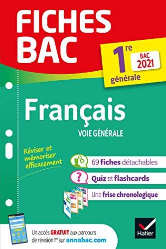 Fiches bac Français 1re générale Bac 2021: nouveau programme de Première (2020-2021)
