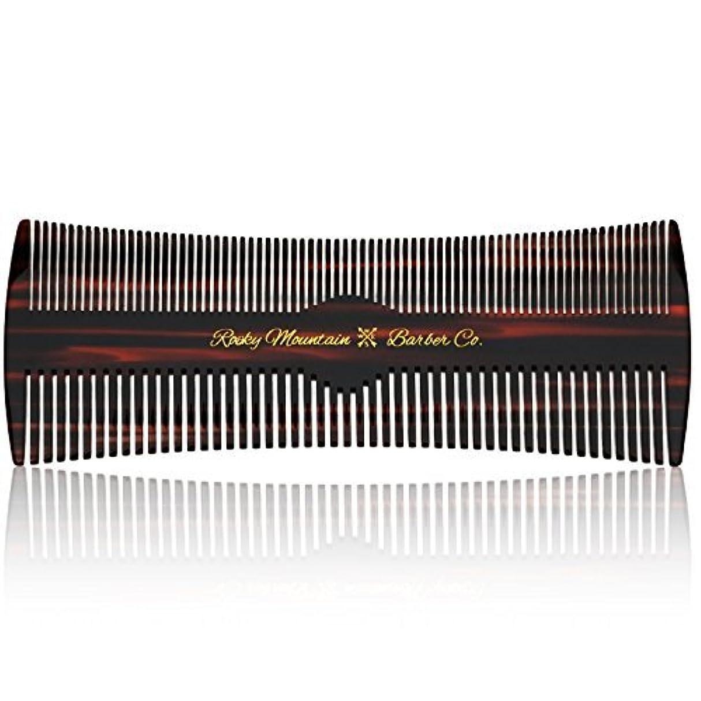 ブローホール知性震えるHair Comb - Fine and Medium Tooth Comb for Head Hair, Beard, Mustache - Warp Resistant, No Snag Design with Contour Sides Crafted from Cellulose Acetate [並行輸入品]