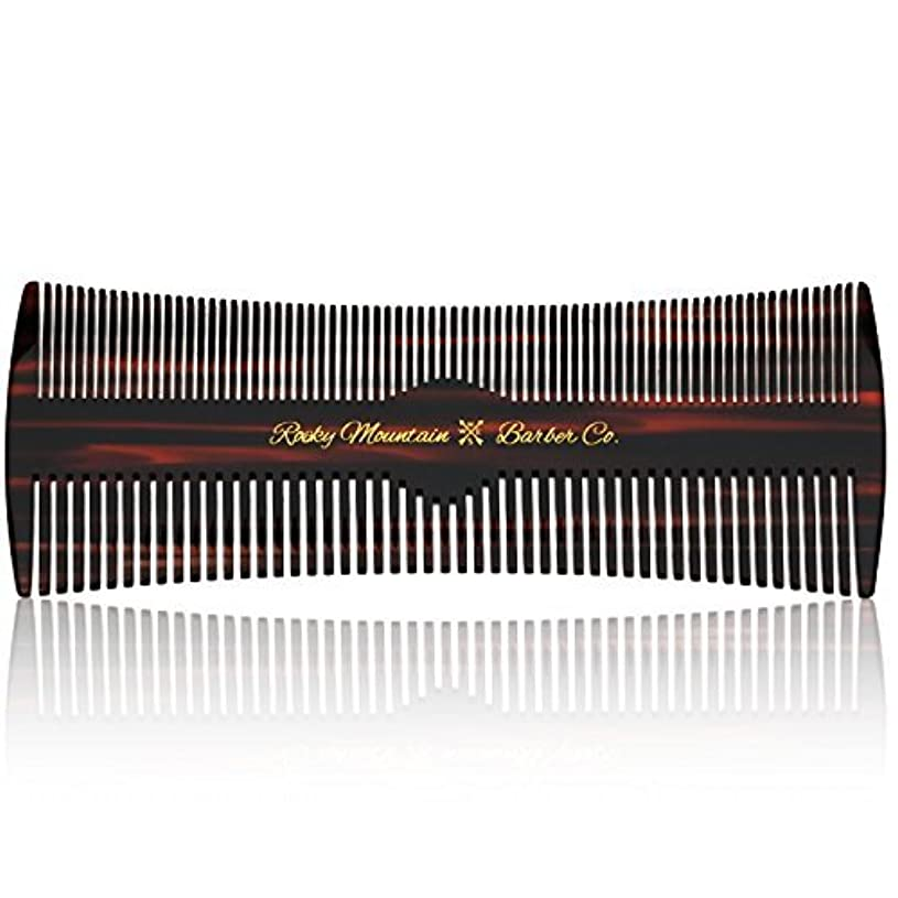 エミュレーション頻繁にブロックするHair Comb - Fine and Medium Tooth Comb for Head Hair, Beard, Mustache - Warp Resistant, No Snag Design with Contour Sides Crafted from Cellulose Acetate [並行輸入品]