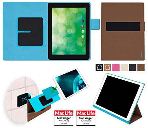 Hülle für Blaupunkt Endeavour 1000 QC Tasche Cover Hülle Bumper | in Braun | Testsieger