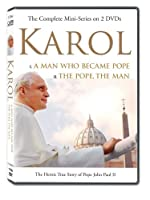 KAROL, A Man Who Became Pope and The Pope, The Man. Two Complete Mini-Series (6 hrs 25 minutes))