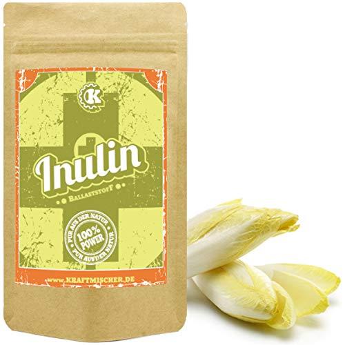 Inulin 1kg – der ganz besondere prebiotischer Ballaststoff aus der Chicoree-Wurzel (Zichorie) Inulin kann die Darmflora positiv beeinflussen und den Knochen Gutes tun