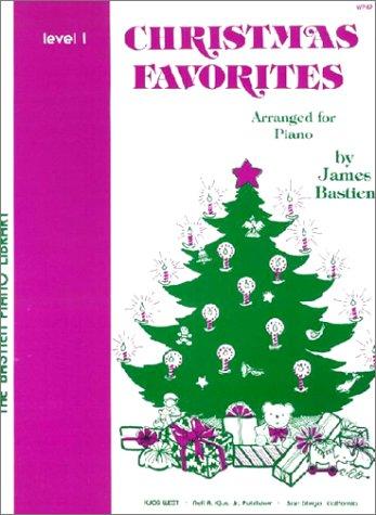 WP49 クリスマスフェボリット レベル1 (英語版) (The Bastien Piano Library)