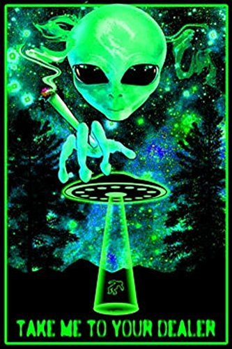 Take Me To Your Dealer College Blacklight Poster 24 x 36in by Scorpio Posters