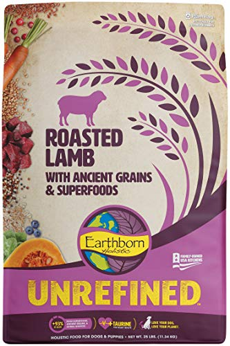 Unrefined Roasted Lamb with Ancient Grains & Superfoods Dry Dog & Puppy Food, 25 lb.
