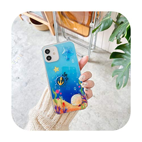 Lindo 3D dibujos animados epoxi teléfono caso para Huawei P30 P40 Lite P20 Pro transparente suave caso trasero para Huawei Mate 20 30 40 Pro Cover-5-Mate 30 Pro
