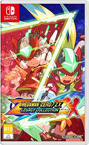 Switch - Mega Man Zero/Zx - Legacy Collection - [AMERICAN VERSION]