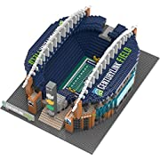 """Officially licensed Approximately 12"""" X 10"""" X 3.5"""" When fully assembled Includes Decals for various Stadium features Recommended for ages 12 and up"""