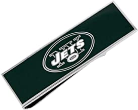 cufflink New York Jets Enamel Money Clip NFL Silver Greeen Money Clip