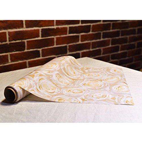 MXJ61 Serviette nappe mariage restaurant hôtel bouche tissu table drapeau napperons napperon 0.4 * 4.8cm ( Couleur : Blanc )
