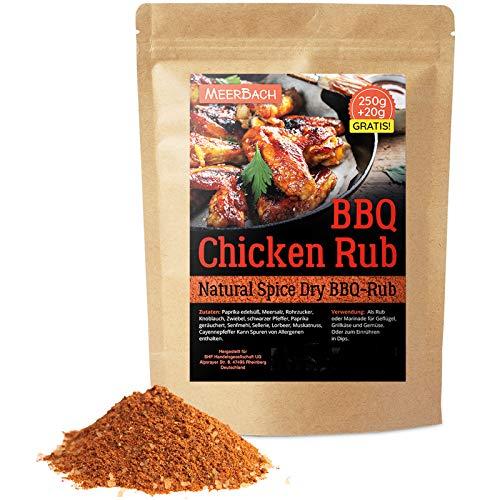 Chicken Rub • Hähnchen Gewürz • 250g Chicken Wings BBQ Rub • Gewürzmischung zum Grillen und Marinieren • Spitzenqualität aus Deutschland