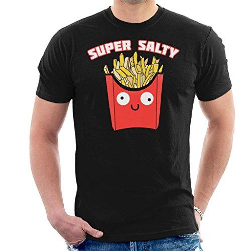 Cloud City 7 Super Salty French Fries T-shirt voor heren