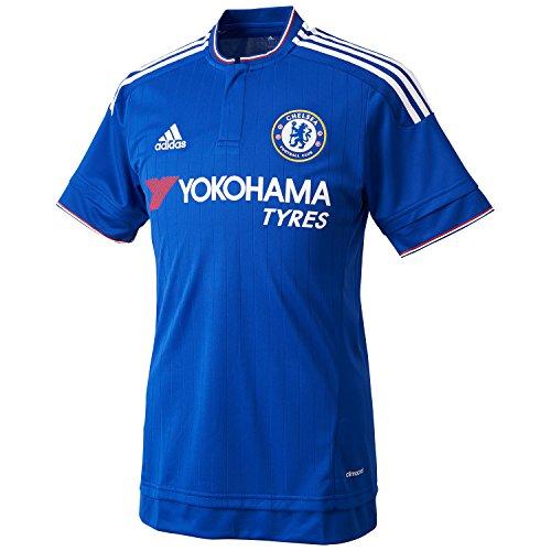 [Adidas] サッカー・フットサル レプリカユニフォーム BCE41 メンズ チェルシーブルー/ホワイト/パワーレッド 日本 M-(日本サイズM相当)