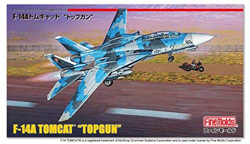 ファインモールド 1/72 航空機シリーズ アメリカ海軍 F-14A トムキャット トップガン プラモデル FP36