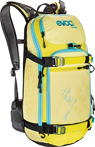 EVOC FR Pro Women's Protector Backpack, womens, Protector Backpack, 7016208468, Yellow / Sulphur / Petrol, 56 x 27 x 14 cm, 20 Liter