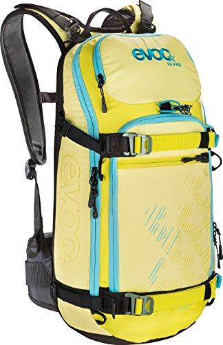 EVOC Sports GmbH Damen Protektor Rucksack FR Pro Women, yellow/sulphur/petrol, 50 x 27 x 14 cm, 20 Liter