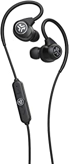JLab Audio Epic Sport2 Wireless Earbuds | Black | Active Lifestyle 20+ Hour Battery Life | Bluetooth 5 | IP66 Sweatproof |...