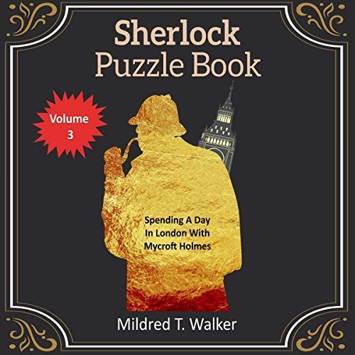 Sherlock Puzzle Book, Book 3 Audiobook By Mildred T. Walker cover art