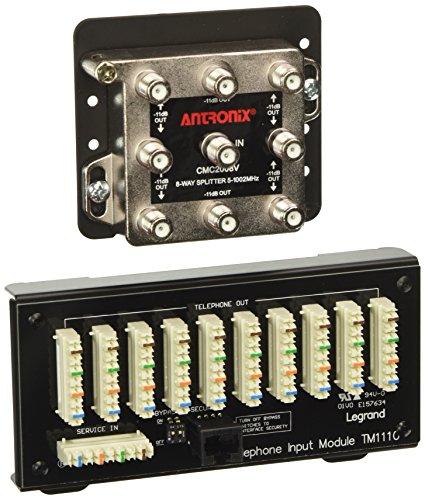 Legrand - OnQ CO1110 8x10 Combo Module Idc W/Rj31x