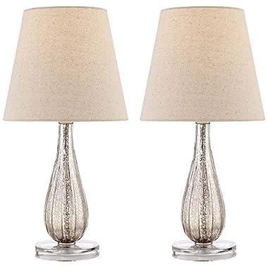 Watson Mercury Glass Table Lamp Set of 2