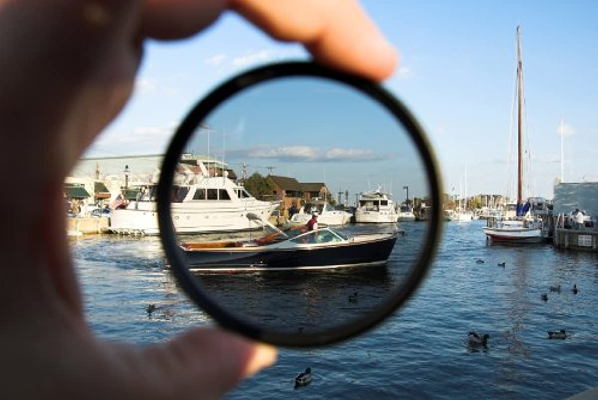 C-PL (Circular Polarizer) Multicoated | Multithreaded Glass Filter (67mm) for Canon EOS 77D