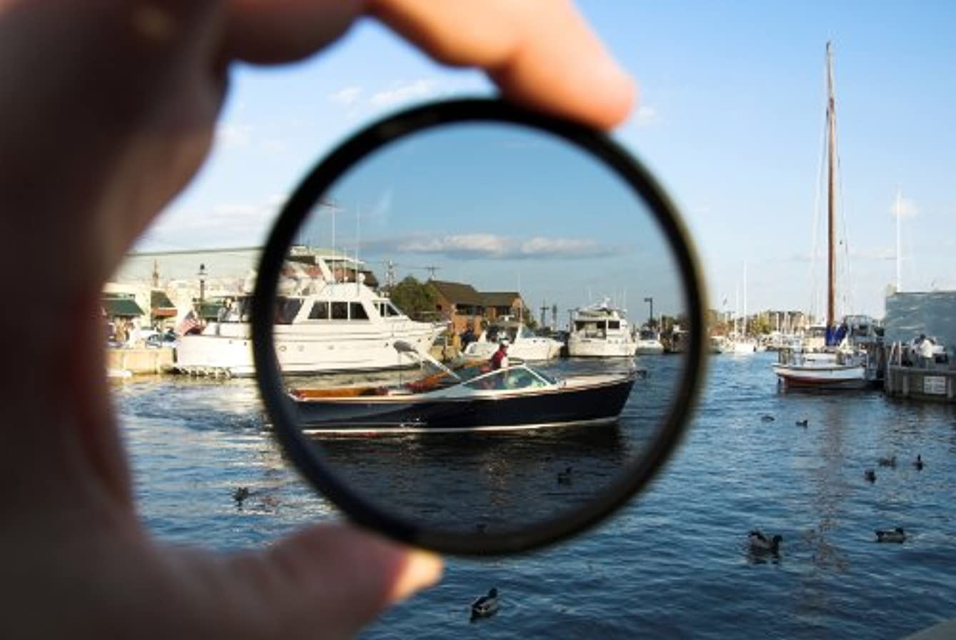 C-PL (Circular Polarizer) Multicoated | Multithreaded Glass Filter (58mm) for Canon XF400