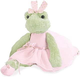 Bearington Juliette Pirouette Plush Stuffed Animal Ballerina Frog 15