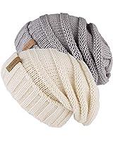 FURTALK Knitted Winter Slouchy...