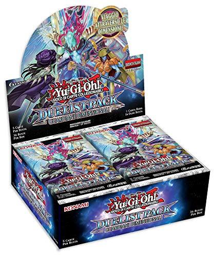 Konami Yu-Gi-Oh!- Juego de Cartas coleccionables sobre Duelista, Guardianes Dimensionales (sobre de 5Cartas) [versión Italiana]