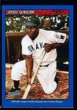 JOSH GIBSON HOMESTEAD GRAYS BLUE FORTUNE MINT SP 2006 TOPPS BAZOOKA CARD #1