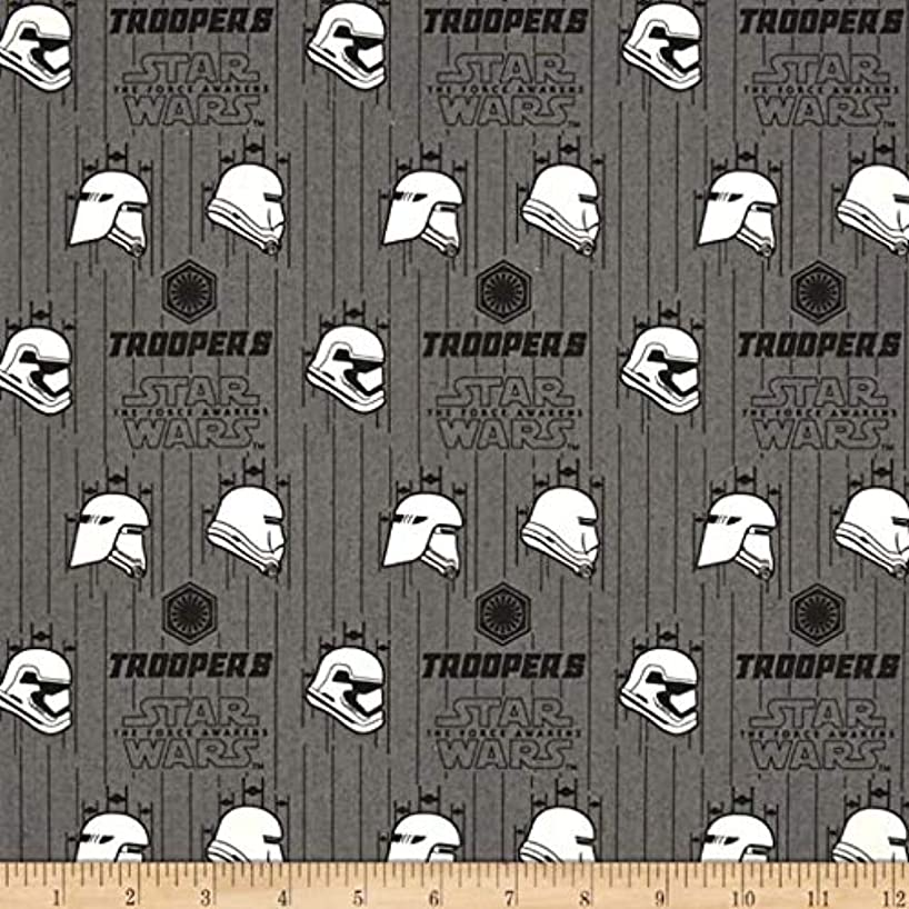 Star Wars Stormtroopers The Force Awakens Cotton Fabric (5 Yards)