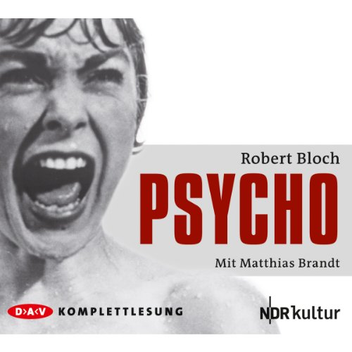 Psycho audiobook cover art