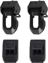 BEIJIAOFLY OEM Original Black Latch Locking Hood Catch Kit for Jeep Wrangler JL 2018 Up