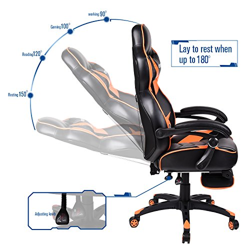 Elecwish Video Gaming/Racing/Office Chair