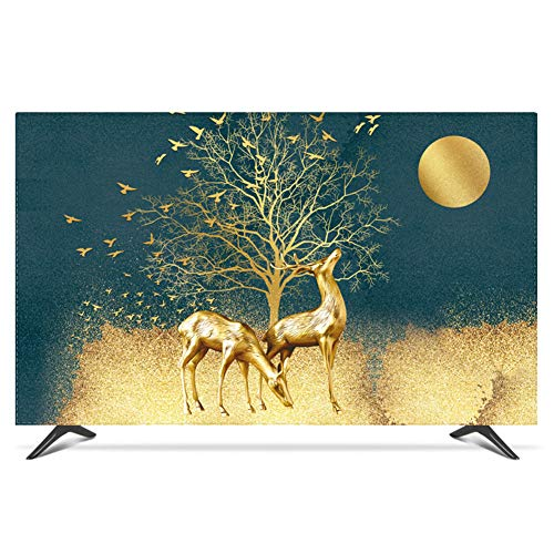 NACHEN TV Staubschutz Abdeckung LCD hängende Staub Abdeckung Fernsehapparat Hauben Gewebe Haushalts Waren Staubdichte Abdeckung (Color 20, 55)