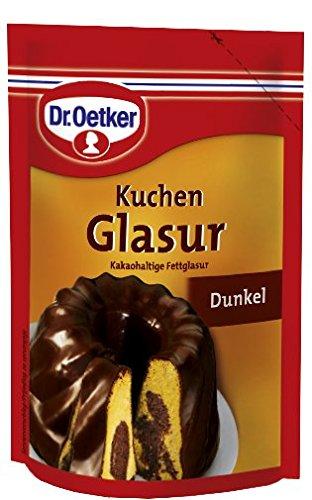Dr. Oetker Kuchen Glasur Dunkel, 125 g