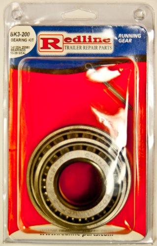 Redline Bearing Kit BK3-200 w/ Bearings, Races, Seal, and Cotter Pin