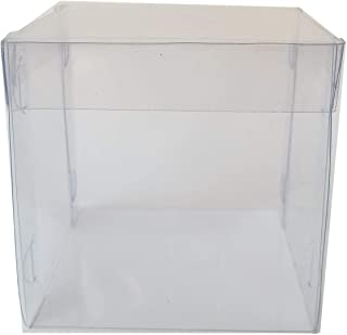 Clear Cubic Box, Transparent Favor Box, Ideal for Gifts, Candies, Chocolates.
