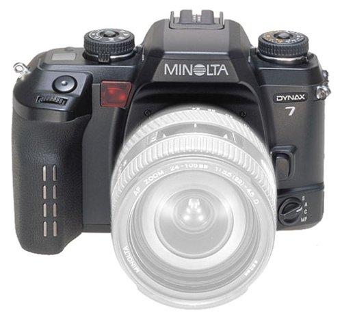 Minolta Dynax 7 Spiegelreflexkamera (nur Gehäuse) mit Datenrückwand