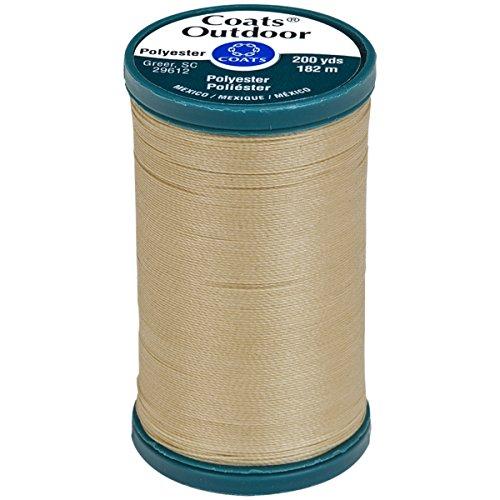 Coats Outdoor Living Thread, 200-Yard, Buff