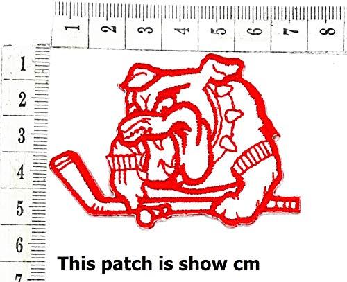 New Bulldog Pitbull Dog Pet Sports Golf Clubs Cartoon Chidren Kids Embroidren Iron Patch/Logo Sew On...
