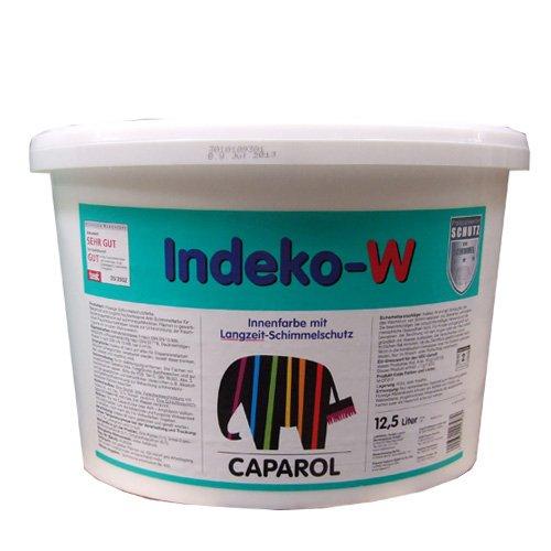 Ditta Caparol Indeko-W 2,5 litri, bianco