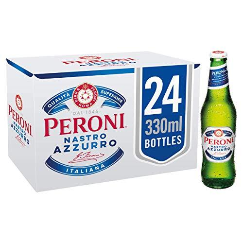 Peroni Nastro Bière Blonde Lager dItalie x 24 Azzurro 0,33 L