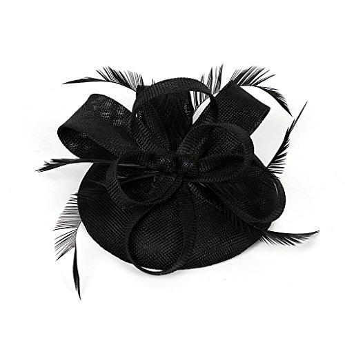 dressfan Fascinator Cambric Flower Pequeño Sombrero Fiesta...