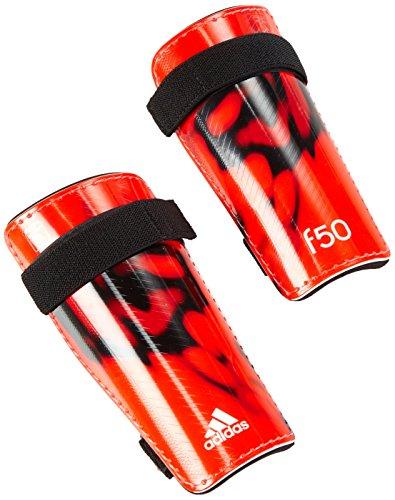 adidas Schienbeinschoner F50 Lite, Solar Red/White/Black, L