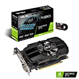 ASUS GeForce GTX 1650 4GB Phoenix Fan Overclocked Edition HDMI DP DVI Graphics