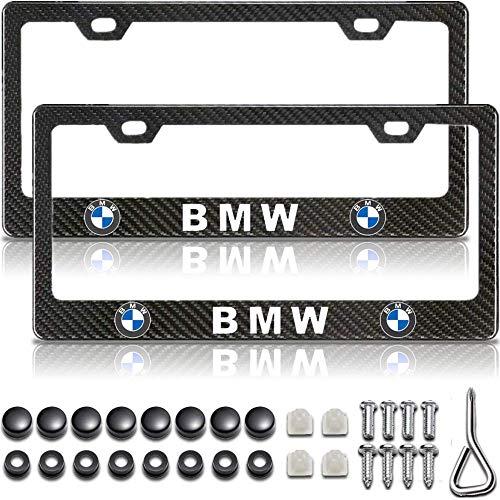 License Plate Frame for BMW, Carbon Fiber License Plate Frame, BMW Accessories, Plate Frame for BMW, Black License Plate Frame, License Plate Frame for BMW, License Plate Frame Black